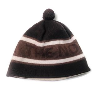 The North Face | Wool Beanie Hat Brown EUC
